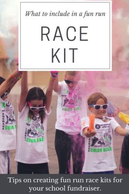 What To Include In Your Race Kits | Color Fun Run For Charity